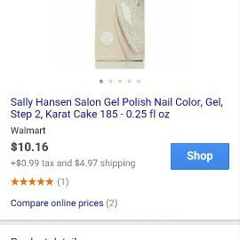 Photo of Sally Hansen® Salon Gel Polish uploaded by Shania M.