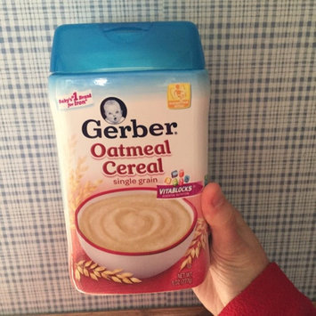 Photo of Gerber® Oatmeal Cereal 8 oz. Canister uploaded by Nancy C.