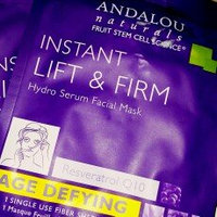 Andalou Naturals Instant Lift & Firm Hydro Serum Facial Mask, 0.6 Oz uploaded by Stephanie J.