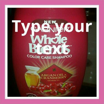 Photo of Garnier Whole Blends Argan Oil & Cranberry Extracts Color Care Shampoo uploaded by Rendi D.