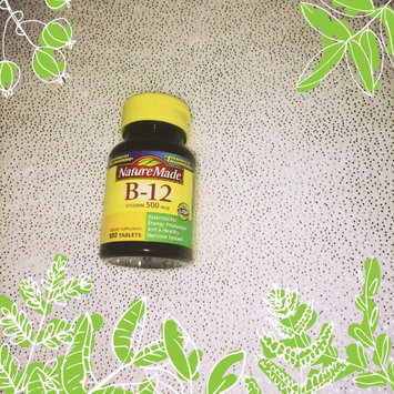 Photo of Nature Made Vitamin B-12 uploaded by Destiny D.
