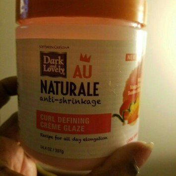 Photo of Dark and Lovely AU Naturale Anti-Shrinkage Curl Defining Creme Glaze uploaded by Evelyn L.