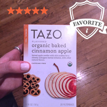 Photo of Tazo Organic Baked Cinnamon Apple Herbal Tea uploaded by Samara F.