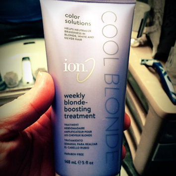 Photo of Ion Color Defense Weekly Blonde Boosting Treatment uploaded by Heather M.