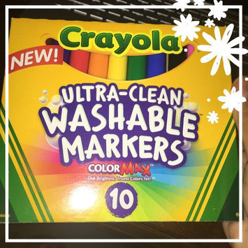 Photo of Crayola 10 Ct Ultraclean Broadline Classic uploaded by Samantha N.