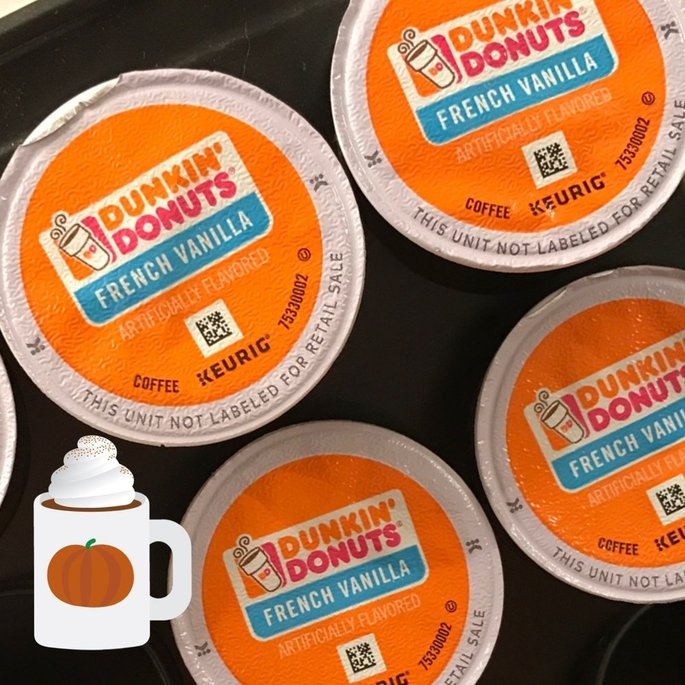 Dunkin' Donuts French Vanilla Coffee K-Cups uploaded by Ashley J.