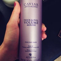 ALTERNA Haircare CAVIAR Anti-Aging Thick & Full Volume Mousse 8.2 oz uploaded by Baylee A.