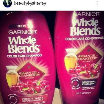 Photo of Garnier Whole Blends Argan Oil & Cranberry Extracts Color Care Shampoo uploaded by shanay z.