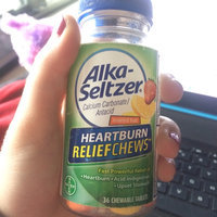 Alka-Seltzer Heartburn ReliefChews Chewable Tablets Assorted Fruit - 36 CT uploaded by Jane P.