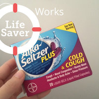 Alka-Seltzer Plus Cold & Cough Formula Liquid Gels - 20 CT uploaded by kelly m.