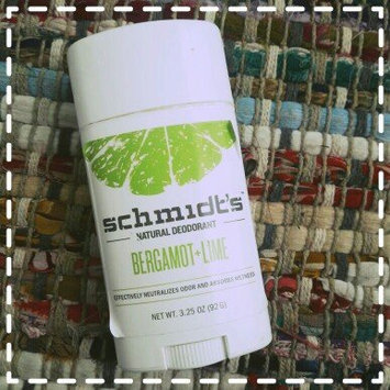 Schmidt's Bergamot + Lime Natural Deodorant uploaded by Melissa A.