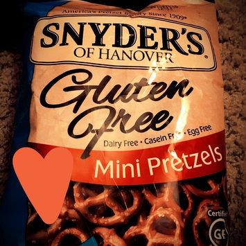 Snyder's Of Hanover Gluten-Free Mini Pretzels uploaded by Shannon S.