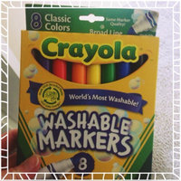 Crayola Broad Line Washable Markers-Bold Colors 8/ uploaded by Bree C.