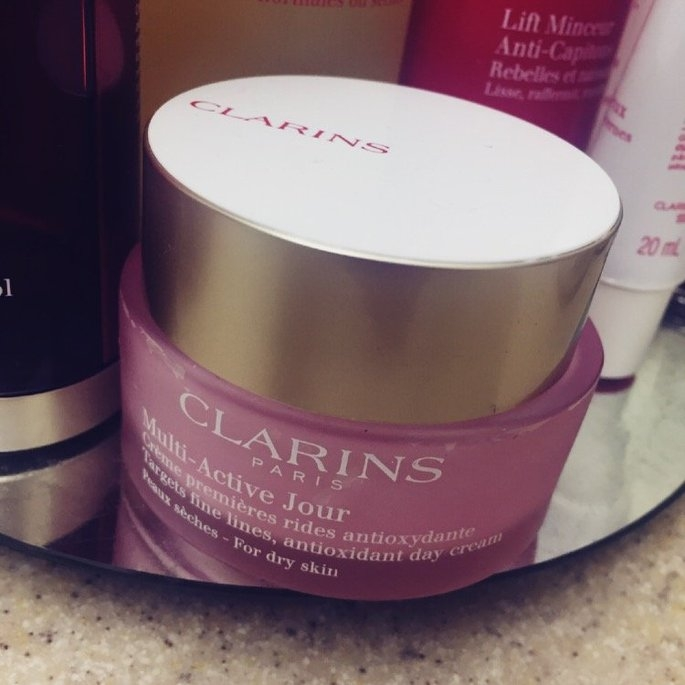 NEW Clarins Multi-Active Day & Night Creams uploaded by Vrati D.