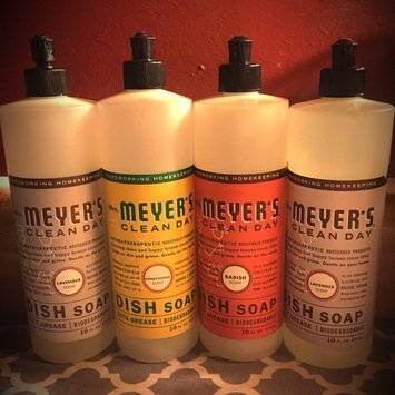 Mrs. Meyer's Clean Day Liquid Dish Soap Lavender uploaded by Chelsea G.