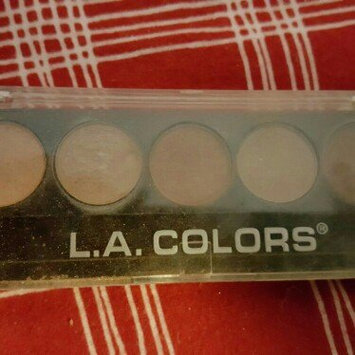L.A. Colors 5 Color Metallic Eyeshadow, Tea Time, .26 oz uploaded by Jodie L.