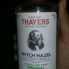 Photo of Thayer,henry Thayer's: Witch Hazel with Aloe Vera, Original Toner 12 oz uploaded by Anuska M.