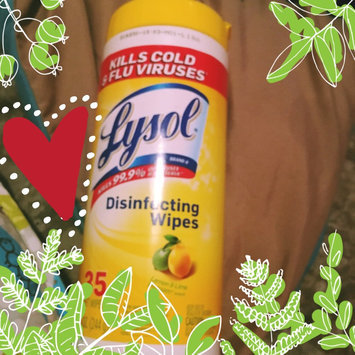 Lysol Disinfecting Wipes - Lemon uploaded by Belinda C.