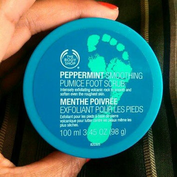 Photo of The Body Shop Peppermint Cooling Pumice Foot Scrub uploaded by Chela W.