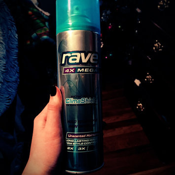 Photo of Rave 4X Mega Unscented Hairspray With ClimaShield uploaded by Taylor K.
