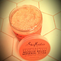 SheaMoisture Coconut & Hibiscus Dead Sea Salt Muscle Relief Mineral Soak uploaded by Kimberly C.