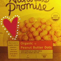 Nature's Promise Organic Peanut Butter Dots Cereal uploaded by Kathryn W.