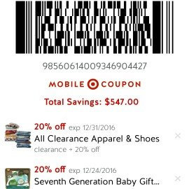 Photo of Cartwheel by Target uploaded by Mira S.