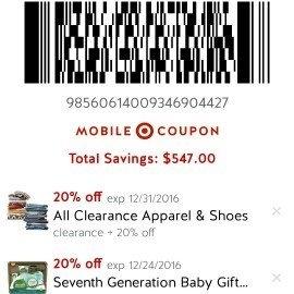 Cartwheel by Target uploaded by Mira S.