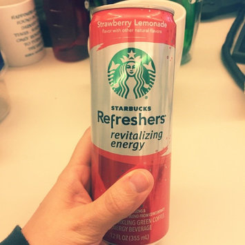 Photo of STARBUCKS® Refreshers® Strawberry Acai Lemonade VIA® Ready Brew uploaded by Katie P.