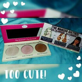 the Balm - the Manizer Sisters Luminizers Palette uploaded by lily r.