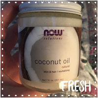 NOW Foods - Coconut Oil 100 Natural - 7 oz. uploaded by Haley K.
