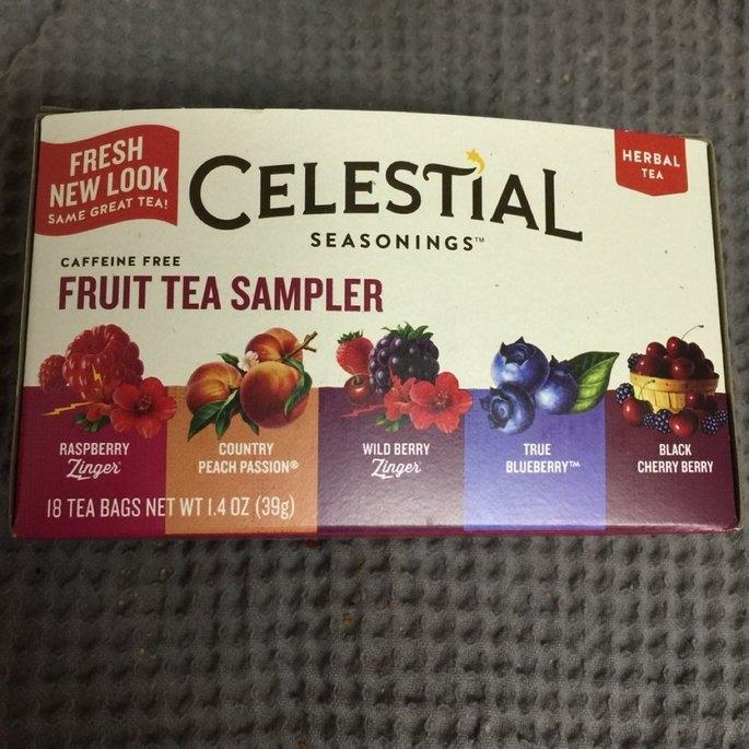 Celestial Seasonings Fruit Tea Sampler Herb Tea Caffeine Free uploaded by Raychel S.