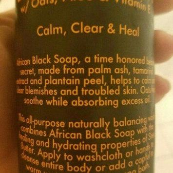 SheaMoisture African Black Soap Body Wash uploaded by Ashley B.