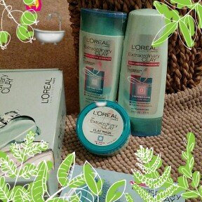 L'Oreal Hair Expertise Extraordinary Clay Mask uploaded by Kate E.