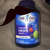 One a Day Men's VitaCraves Gummies Multivitamin/Multimineral Supplement uploaded by Kathleen F.