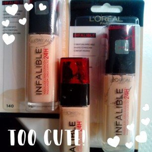 L'Oreal Paris Loreal Infallible Stay Fresh Foundation 24h uploaded by SARA G.