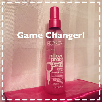 Photo of Redken Pillow Proof Blow Dry Express Primer Heat Protection Spray uploaded by Courtney B.