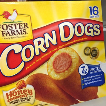 Photo of Foster Farms Chicken Franks Dipped In Honey Batter Corn Dogs, 16ct uploaded by Reylynna N.