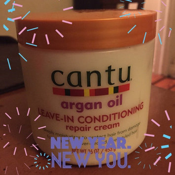 Cantu Argan Oil Leave In Conditioning Repair Cream uploaded by Kendreya R.
