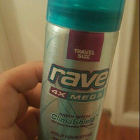 Rave® 4X Mega Unscented Travel Size Hairspray 1.5 oz. Can uploaded by Yesy V.