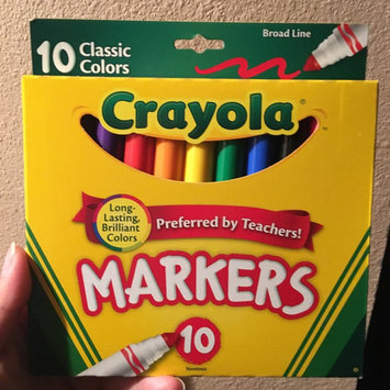 Photo of Crayola 10ct Broad Markers - Assorted Colors uploaded by Denise M.