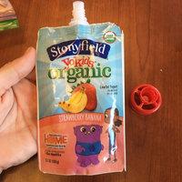 Stonyfield Organic YoKids Organic Lowfat Yogurt Strawberry Banana uploaded by Courtney B.