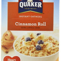 Quaker® Cinnamon Roll Instant Oatmeal uploaded by Jade S.