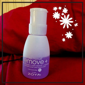 Photo of Zoya Remove Plus Nail Polish Remover uploaded by Sarah A.