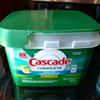 Cascade Complete ActionPacs Dishwasher Detergent uploaded by Katey S.