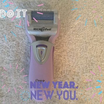 Photo of Emjoi Micro-Pedi Callus Remover w/ Bonus Replacement Rollers - Pink uploaded by Sherrie M.