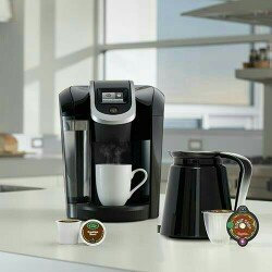 Photo of Keurig - 2.0 K550 4-cup Coffeemaker - Black/dark Gray uploaded by ashlyn e.