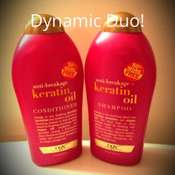 OGX Anti-breakage Keratin Oil Conditioner uploaded by Shelby R.