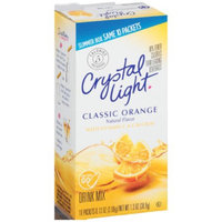 Crystal Light On The Go Sunrise Classic Orange Sugar Free Drink Mix, 10ct(Case of 2) uploaded by Joan V.