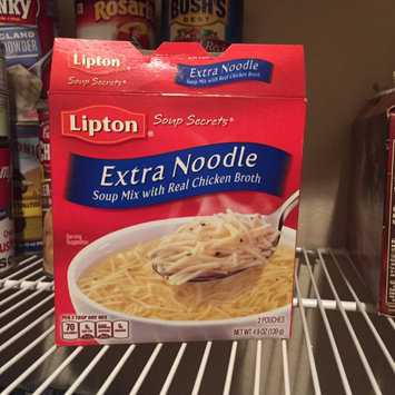 Photo of Lipton Soup Secrets Extra Noodle with Real Chicken Broth Soup - 2 CT uploaded by Crystal W.